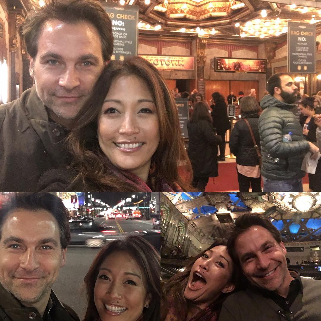 Carrie Ann Inaba and Robb Derringer