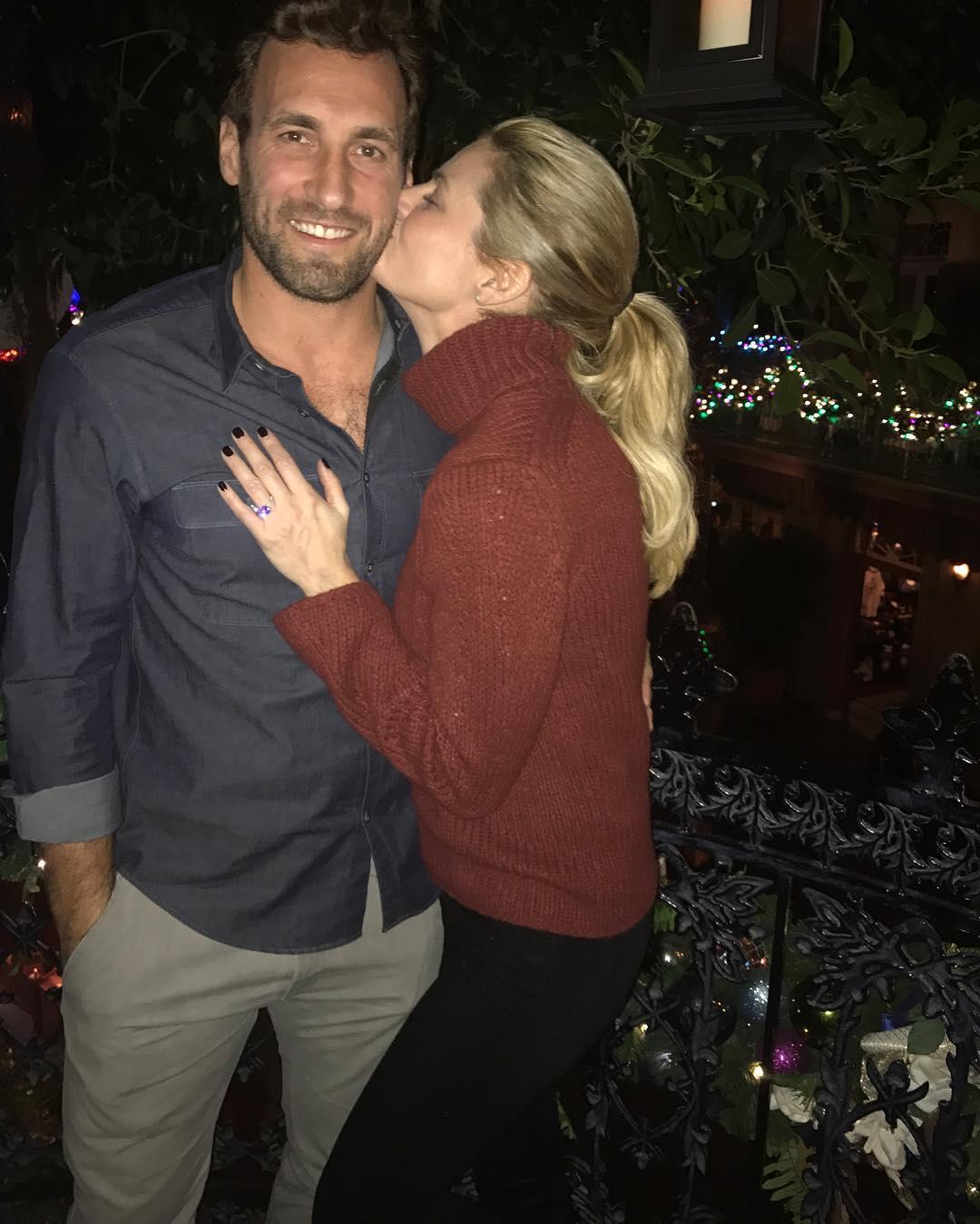 Erin Andrews and Jarrett Stoll