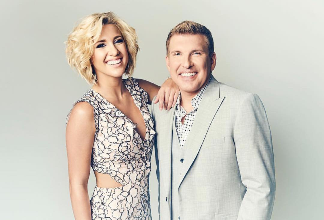 Savannah Chrisley and Todd Chrisley