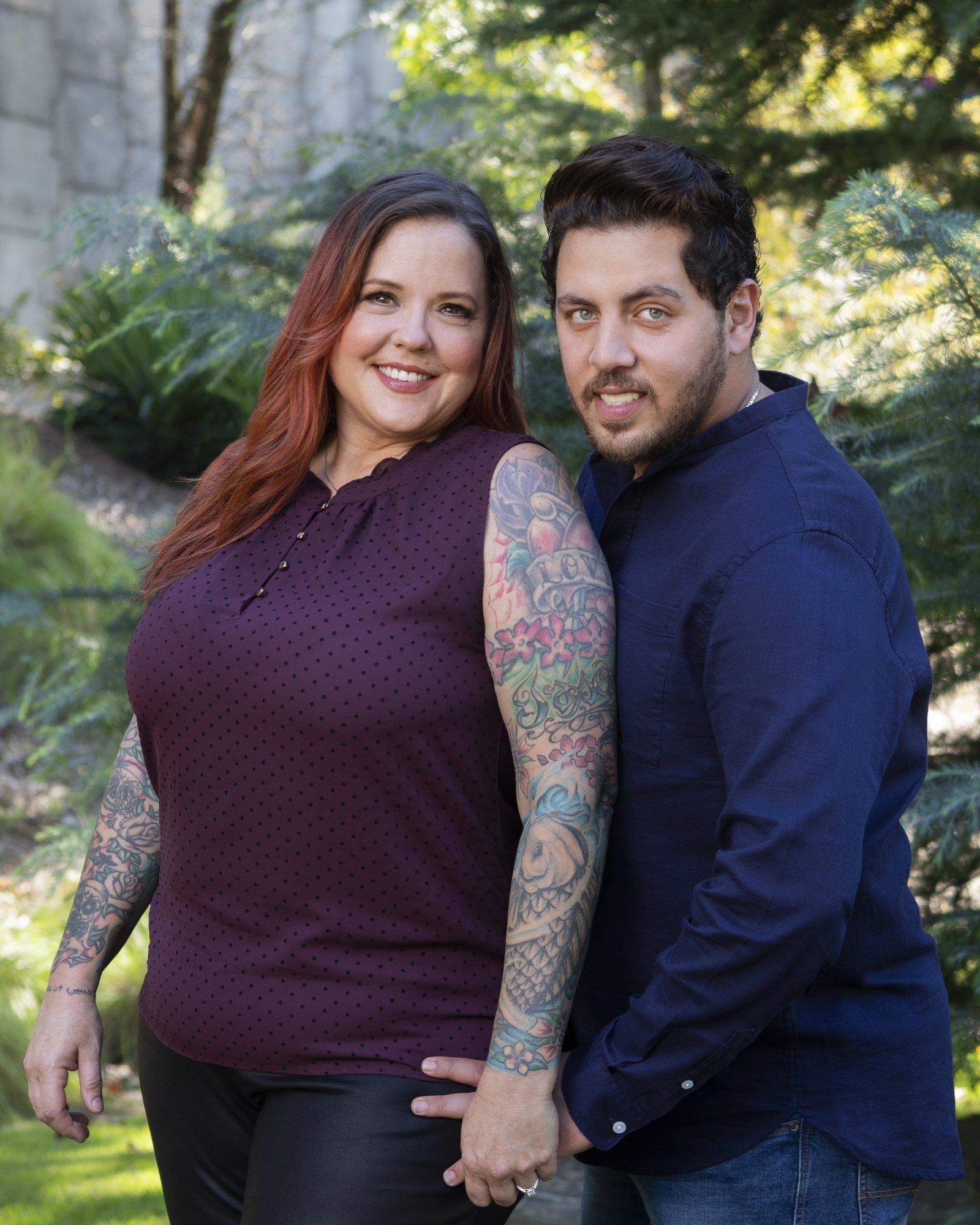 90 Day Fiance Season 8 couple Rebecca Parrott and Zied Hakimi