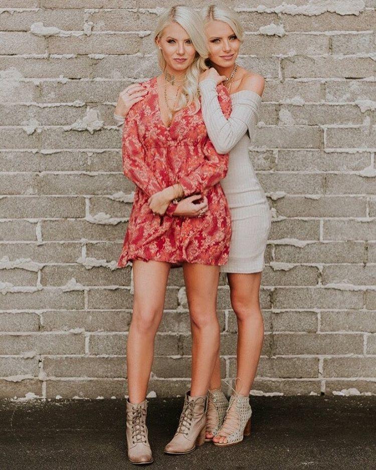 Emily Ferguson and Haley Ferguson