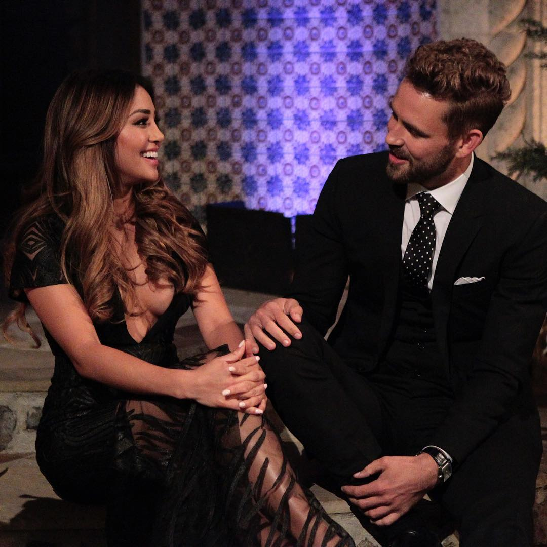 Danielle Lombard and Nick Viall
